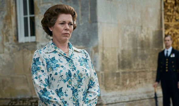 The Queen played by Olivia Coleman in The Crown, season 4