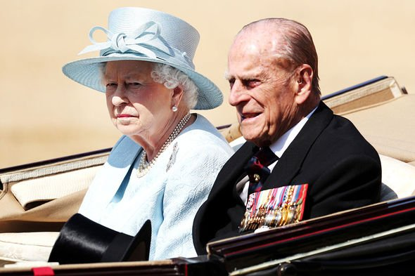 File photo dated 17/06/17 of Queen Elizabeth II and the Duke of Edinburgh arrive for the Trooping the Colour ceremony at Horse Guards Parade, central London, as the Queen celebrates her official birthday