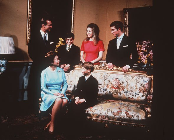 Queen Prince Philip family