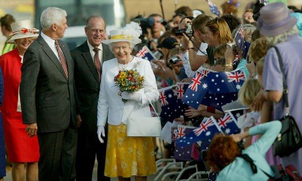 Queen and Prince Philip Australia