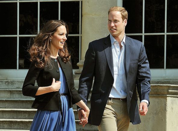 Kate and William younger days