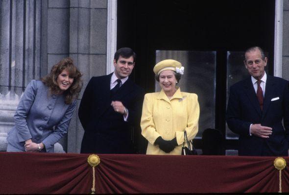Sarah Ferguson and Prince Philip had turbulent relationship