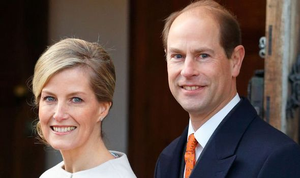 Sophie Rhys-Jones and Prince Edward were given the titles the Earl and Countess of Wessex in 1990