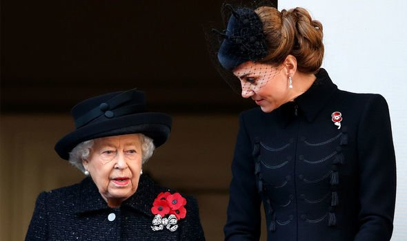 The Firm: The Queen was thought to be delighted to welcome Kate into the family