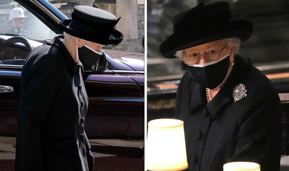 'Very determined' Queen 'still strong' despite 'frail body language' at Philip's funeral