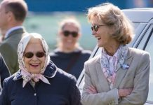 The Queen and Countess Mountbatten
