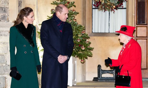 The Queen: Her Majesty has previously paid her respect to Kate