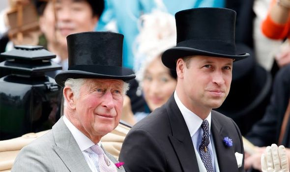 Prince Charles, Prince of Wales and Prince William, Duke of Cambridge attend day one of Royal Ascot at Ascot Racecourse on June 18, 2019 in Ascot, England
