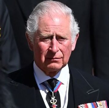 prince charles body language prince philip funeral