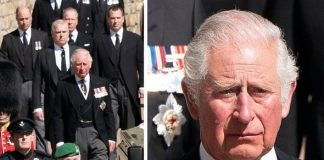 prince charles prince philip funeral medals queen royal family latest news pictures