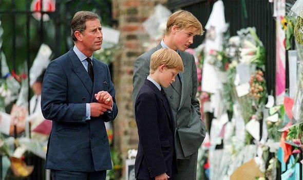 prince charles william harry