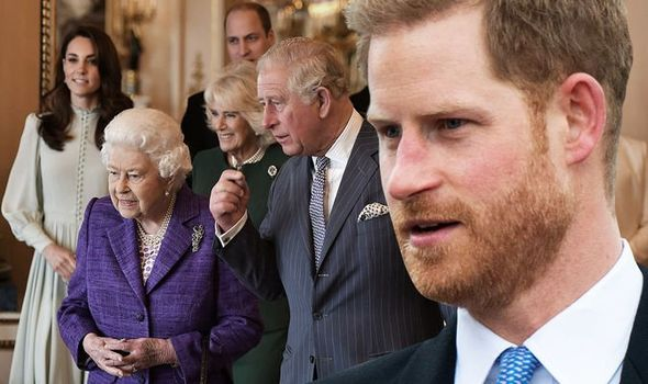 prince harry royal family prince philip funeral