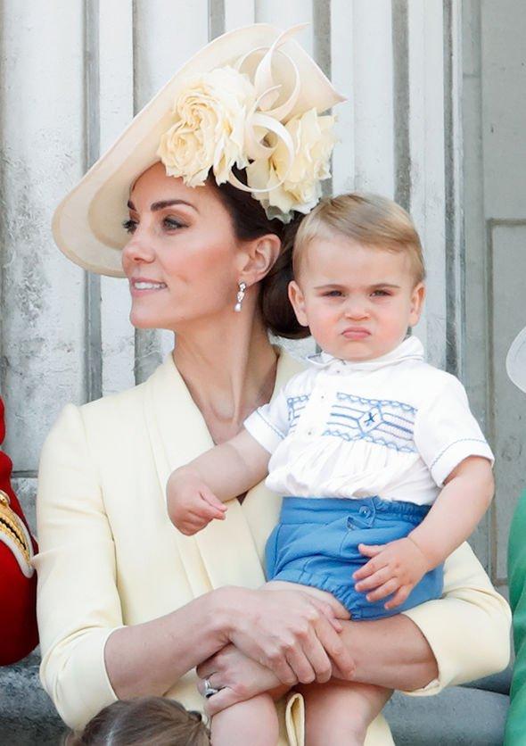 prince louis news new picture birthday kate middleton royal family news