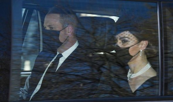 prince william kate prince philip funeral