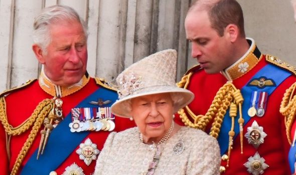 prince william prince charles queen elizabeth ii
