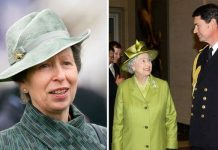 princess anne queen timothy laurence