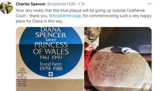 princess diana charles spencer twitter