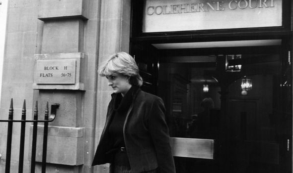 princess diana news flat earls court london