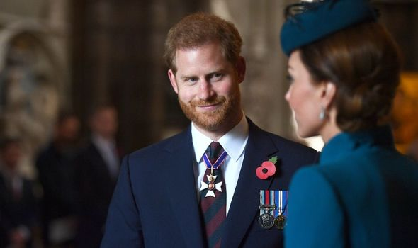 Prince Harry and Kate Middleton were best friend before 'megxit'(Image: GETTY IMAGES )