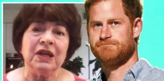 Angela Levin blasted Prince Harry on ITV's Good Morning Britain today(Image: ITV)