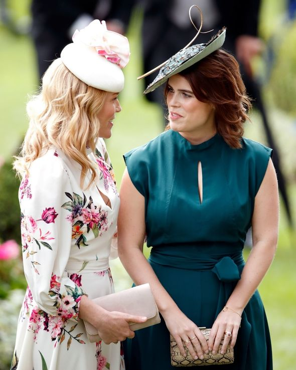 Although not a working royal, Eugenie has flashed her ring many times over the years(Image: Getty)