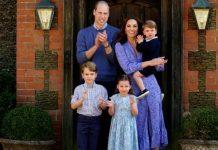 Duke and Duchess of Cambridge with children(Image: Getty)