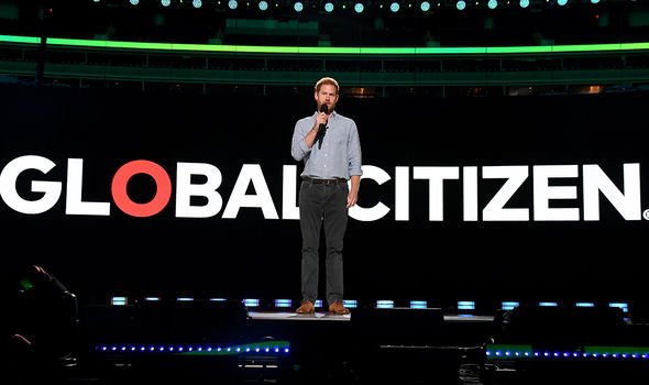 Harry made a passionate speech about sharing vaccines around the world for Global Citizen