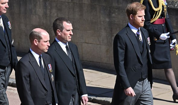 Royal fans hoped Harry and William would reconcile at Prince Philip's funeral last month