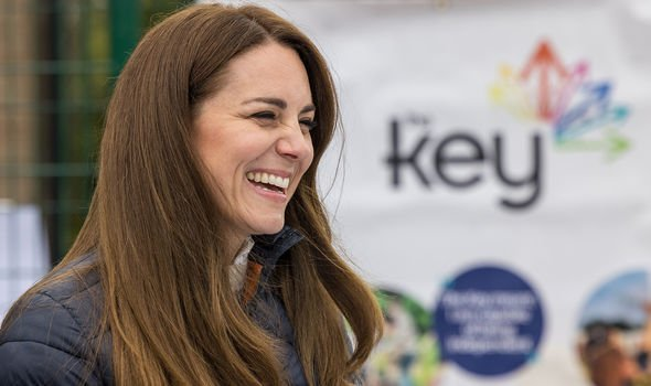 Angela Levin singled out Kate for praise in crafting the Cambridges' connection to the public(Image: GETTY)