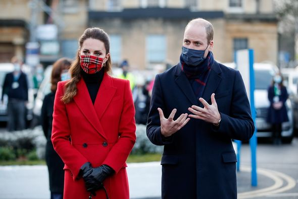 Kate, Duchess of Cambridge, and Prince William(Image: Getty)