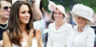 Kate Middleton: Camilla Parker Bowles jewellery