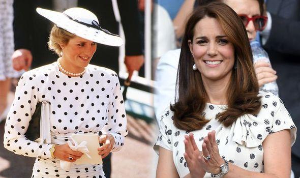 Kate Middleton: Princess Diana style outfits