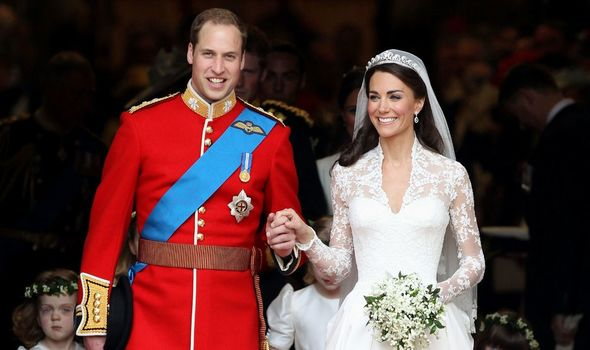 Kate Middleton and Prince William's wedding(Image: getty)