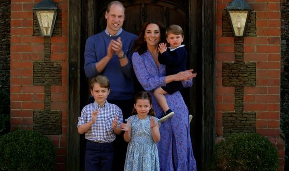 Prince William, Kate Middleton, Prince George, Princess Charlotte and Prince Louis(Image: getty)