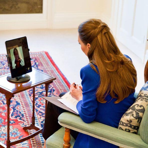 "Many Royal fans praised Kate's ""stunning"" hair(Image: Kensington Palace)"