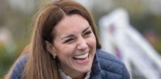 Kate Middleton laugh