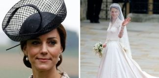 Kate Middleton's wedding dress sparked row that 'raged for some time' in family