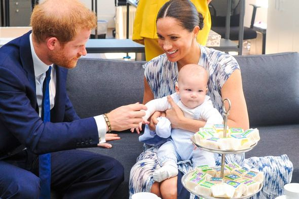 """Meghan said not many people had asked if she was """"okay"""" after giving birth to Archie(Image: PA)"""