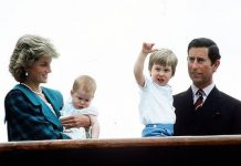 Prince Charles, Diana, William and Harry in May 1985 (Image: Getty)