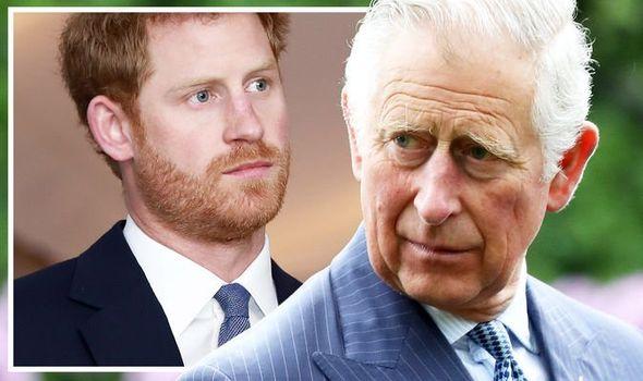 Prince Charles Prince Harry news latest update freeze