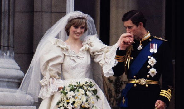 Prince Charles and Princess Diana on their wedding day in 1981(Image: GETTY)