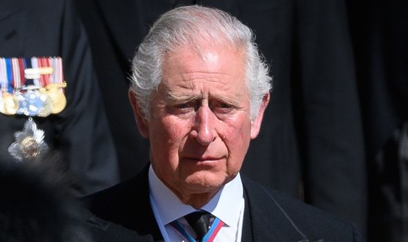 Prince Charles: Ms Mullshine noted it would have been difficult for the pair to reconcile at the funeral.(Image: GETTY)