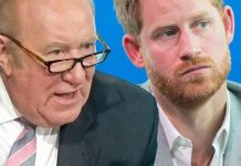 Prince Harry mocked by Andrew Neil (Image: Getty/PA)