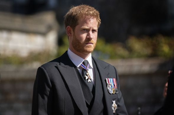 Prince Harry reunited with his family at Philip's funeral
