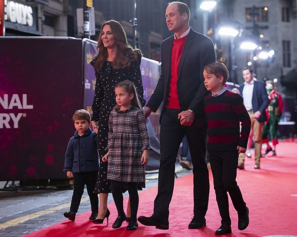 Prince William and Kate with their children(Image: Getty)