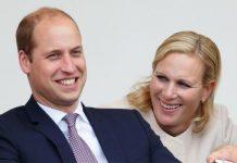 Prince William and Zara Tindall