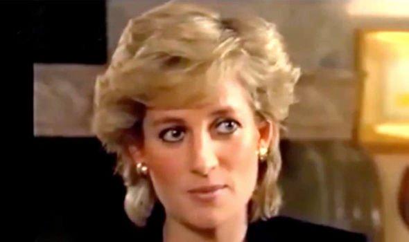 Princess Diana in conversation with Martin Bashir(Image: BBC)