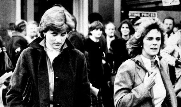 Princess Diana with Camilla(Image: GETTY)