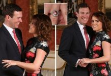 Princess Eugenie's 'rare' and 'vibrant coloured' engagement ring from Jack worth £100,000(Image: Getty)