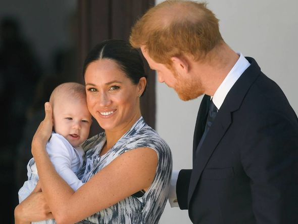 The Duke and Duchess of Sussex celebrated Archie's birthday at their US home(Image: PA)